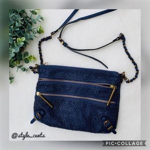 🌿Elliott Lucca Perforated Leather Crossbody🌿